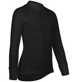 NIJDAM THERMOSHIRT LANGE MOUW • JUNIOR • ZWART