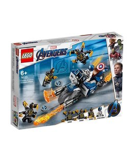 LEGO LEGO SUPER HEROES CAPTAIN AMERICA AANVAL OUTRIDERS