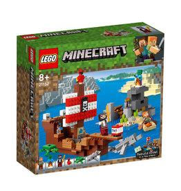 LEGO LEGO MINECRAFT AVONTUUR OP HET PIRATENSCHIP