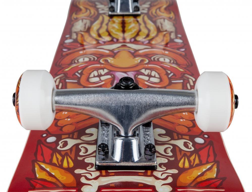 ROCKET SKATEBOARD ROCKET COMPLETE SKATEBOARD, CHIEF PILE-UP