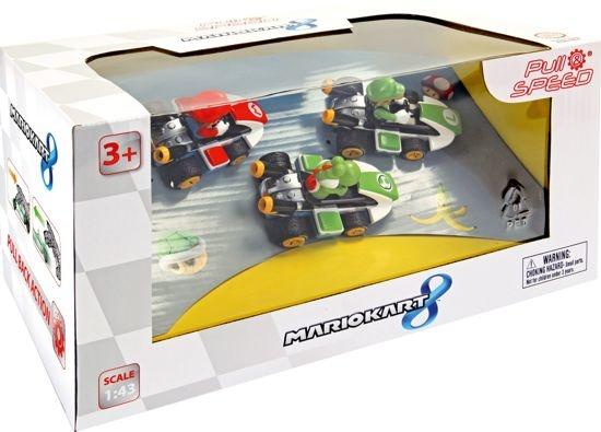 CARRERA CARRERA AUTO PULL & SPEED: MARIO KART 8 - 3-PACK
