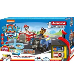 CARRERA RACE N RESCUE PAW PATROL CARRERA FIRST: 4 METER