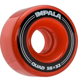IMPALA IMPALA ROLLERSKATE WHEELS, RED