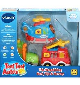 VTECH TOET TOET AUTO VTECH: BART/TIJN/HARVEY 12+ MAANDEN