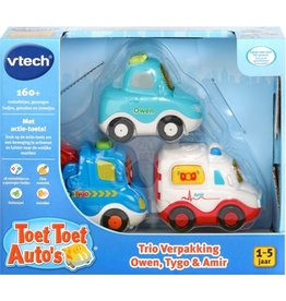 VTECH TOET TOET AUTO VTECH: OWEN/TYGO/AMIR 12+ MAANDEN