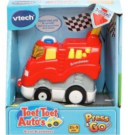 VTECH TOET TOET AUTO VTECH: PRESS & GO BRENT 18+ MAANDEN