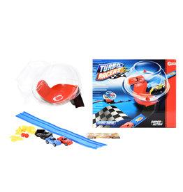 TURBO RACERS TURBO RACERS RACEBAHN MIT AUTOS UND ZUBEHÖR IN 1 BOX