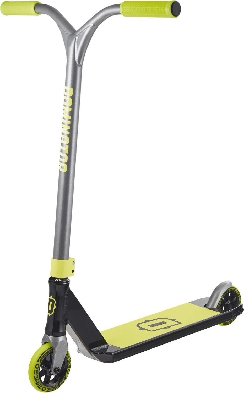 DOMINATOR Dominator Airborne Stunt Scooter,  Schwarz/Neon