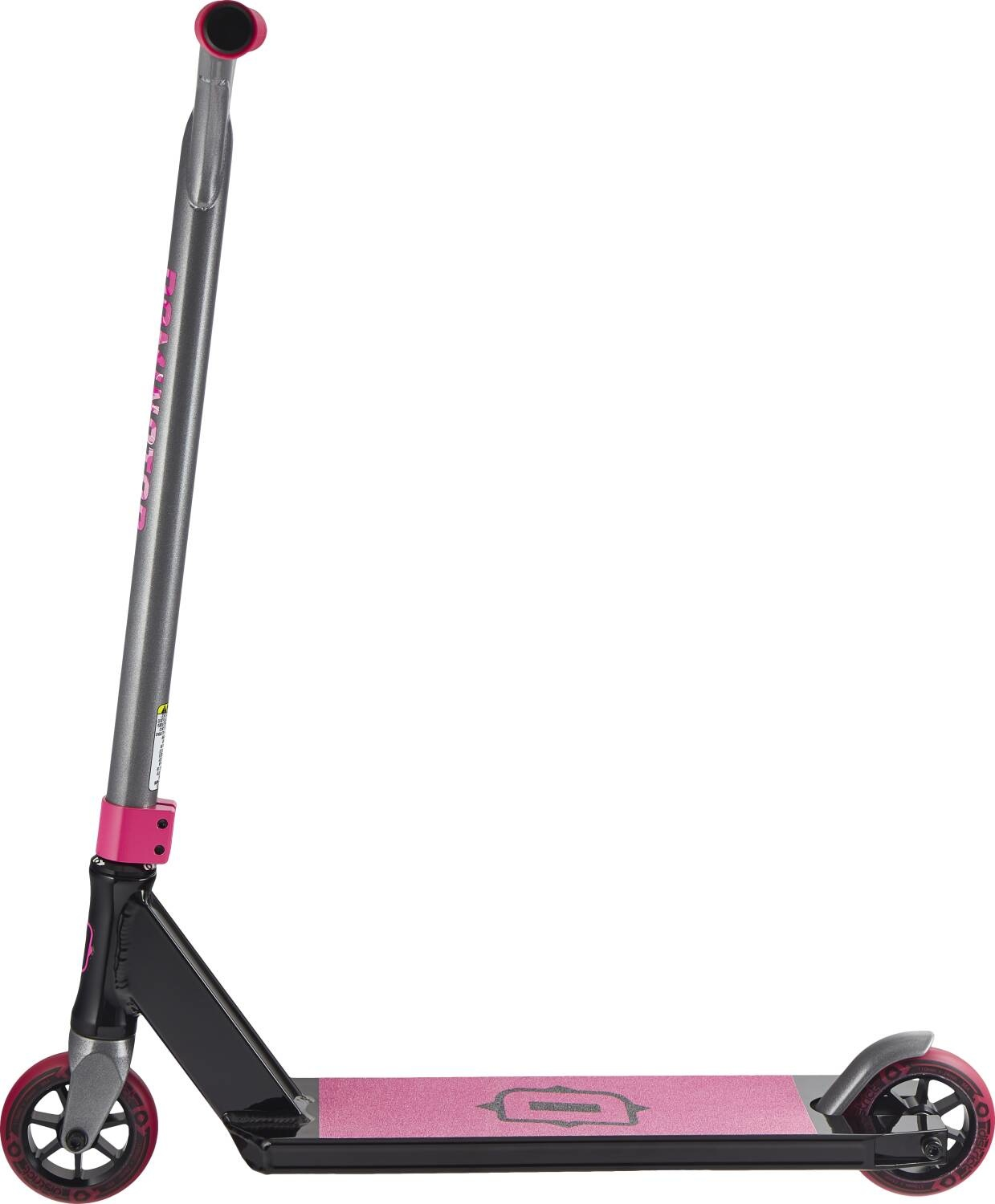 BOMBER SCOOTERS Dominator Airborne Stunt Scooter,  Schwarz/Rosa