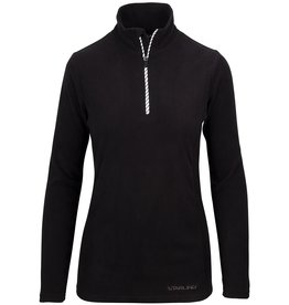 STARLING FLEECE PULLOVER DAMEN, SCHWARZ