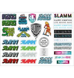 SLAMM SLAMM STICKERVEL