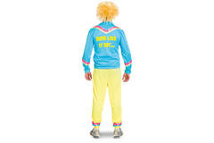 CARNAVAL 80S TRAININGSPAK MAN 3-DELIG HEREN MAAT XL-XXL