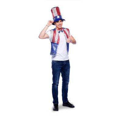 CARNAVAL AMERIKA USA KLEDING SET