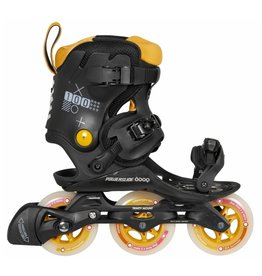 DOOP POWERSLIDE DOOP INLINE SKATES YELLOW SUNRISE