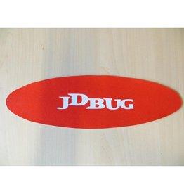 JD BUG JD BUG GRIPTAPE LARGE, ROOD