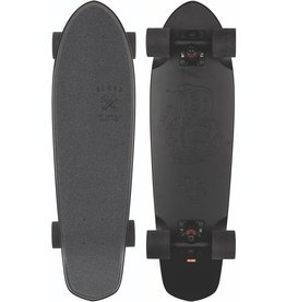 GLOBE GLOBE BLAZER CRUISERBOARD, BLACK THE F OUT