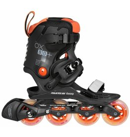 DOOP POWERSLIDE DOOP INLINE SKATES, ORANGE SUNSET