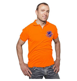 CARNAVAL POLO-SHIRT ORANGE