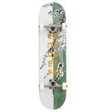 ENUFF SKATEBOARDS ENUFF CHERRY BLOSSOM COMPLETE SKATEBOARD, WHITE/TEAL