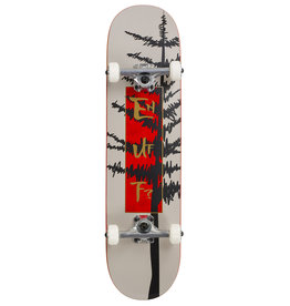 ENUFF SKATEBOARDS ENUFF EVERGREEN TREE COMPLETE SKATEBOARD, GRIJS/ROOD