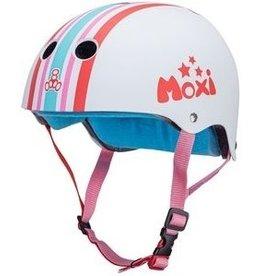 MOXI MOXI TRIPLE 8 CERT SWEATSAVER SKATEHELM, STRIPEY