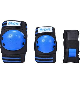 MOVE MOVE PROTECTION 3-PACK BASIC KIDS, BLUE