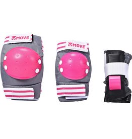 MOVE MOVE PROTECTION 3-PACK BASIC KIDS, PINK