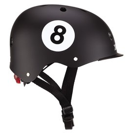GLOBBER GLOBBER KINDERHELM, BLACK 8 BALL