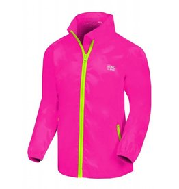 MAC IN A SAC REGENJACKE JUNIOR NEON PINK