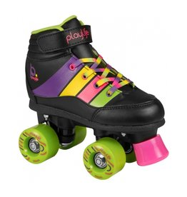 PLAYLIFE PLAYLIFE ROLLERSKATES, KIDS GROOVE BLACK