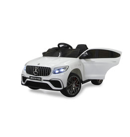 JAMARA RIDE-ON CAR MERCEDES-AMG GLC63 S COUPE WEIß 4WD
