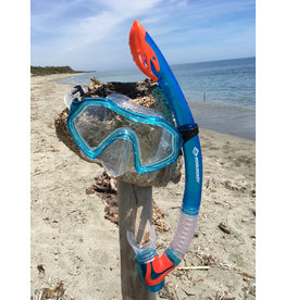 SCHILDKRÖT JUNIOR SNORKEL SET, BARBADOS