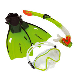SCHILDKRÖT JUNIOR SNORKEL SET, BERMUDA