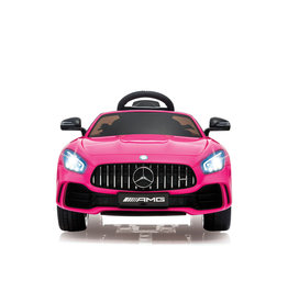 JAMARA RIDE ON MERCEDES AMG GTR ROZE 2,4 GHZ 12V