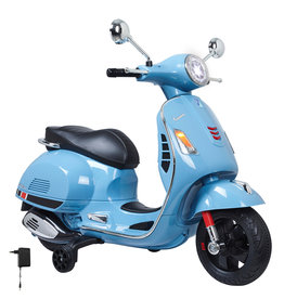 JAMARA RIDE ON VESPA GTS BLAUW 12V