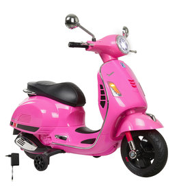 JAMARA RIDE ON VESPA GTS 125 ROZE 12V