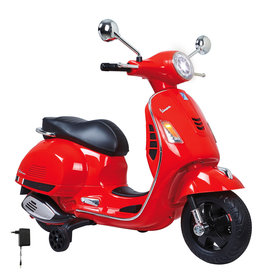 JAMARA RIDE ON VESPA GTS 125 ROOD 12V