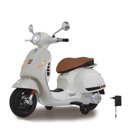 JAMARA RIDE ON VESPA GTS 125 WIT 12V