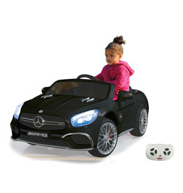 JAMARA RIDE-ON MERCEDES AMG SL65 ZWART 12V