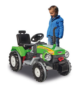 JAMARA RIDE-ON TRAKTOR POWER DRAG 12V GROEN