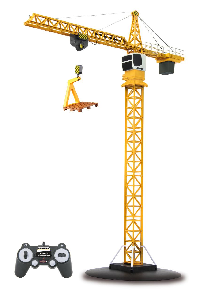 JAMARA TURNING TOWER CRANE LIEBHERR 2,4 GHZ