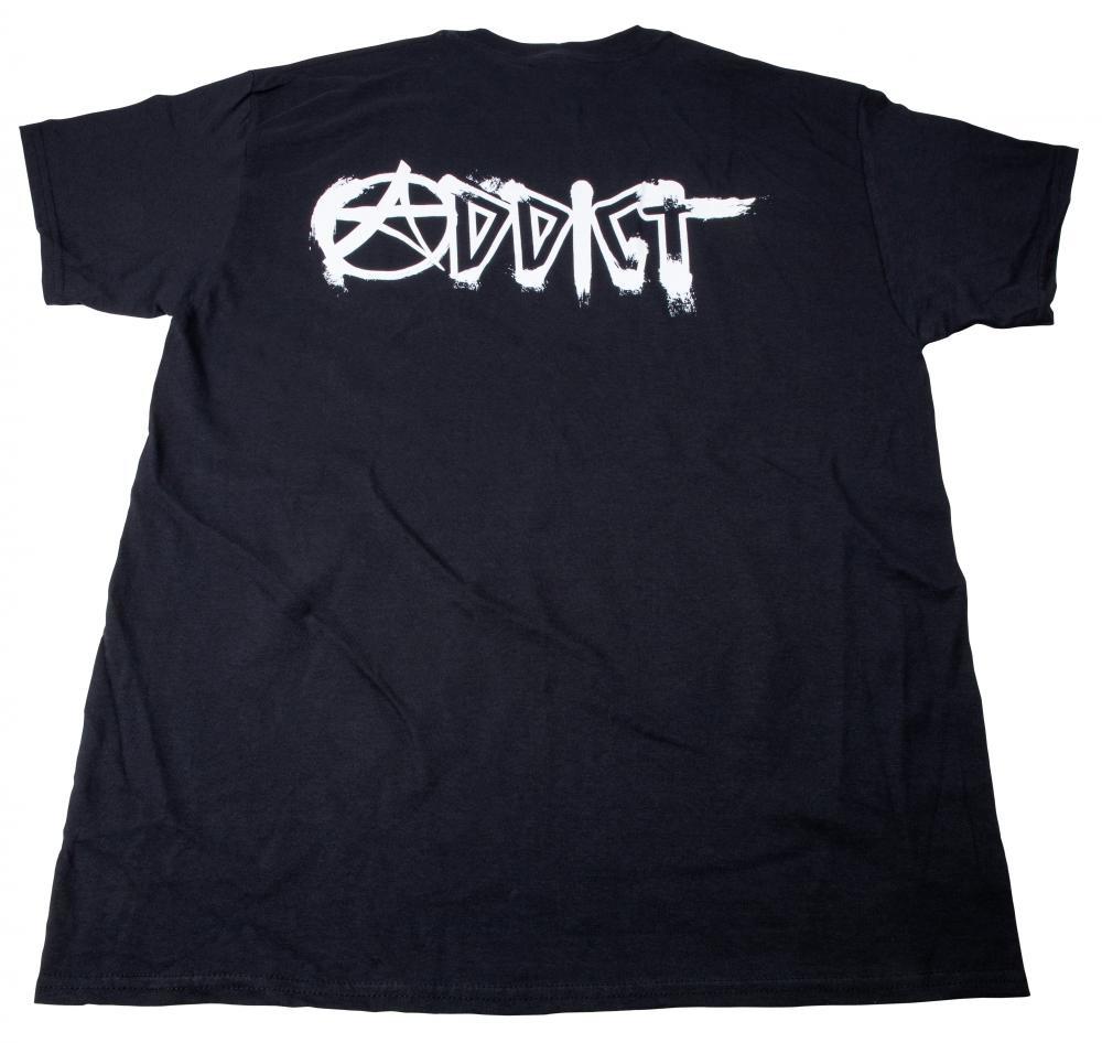 ADDICT ADDICT T SHIRT, LOGO