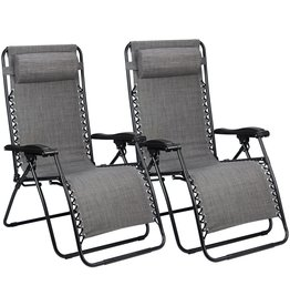 ABBEY CHAIR CHAISE LONGUE IV - PAIR  GRAU