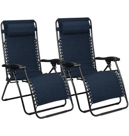 ABBEY CHAIR CHAISE LONGUE IV - PAIR  BLEU