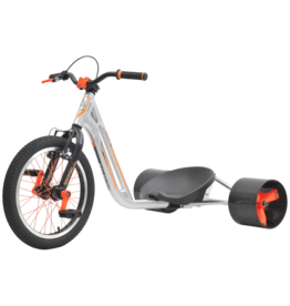 TRIAD DRIFT TRIKE TRIAD COUNTERMEASURE 2, SILVER/ORANGE
