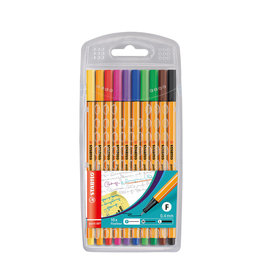 STABILO FINELINERS STABILO POINT 88 MULTI: 10 STUKS