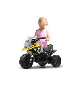 JAMARA RIDE-ON E-TRIKE RACER, GEEL
