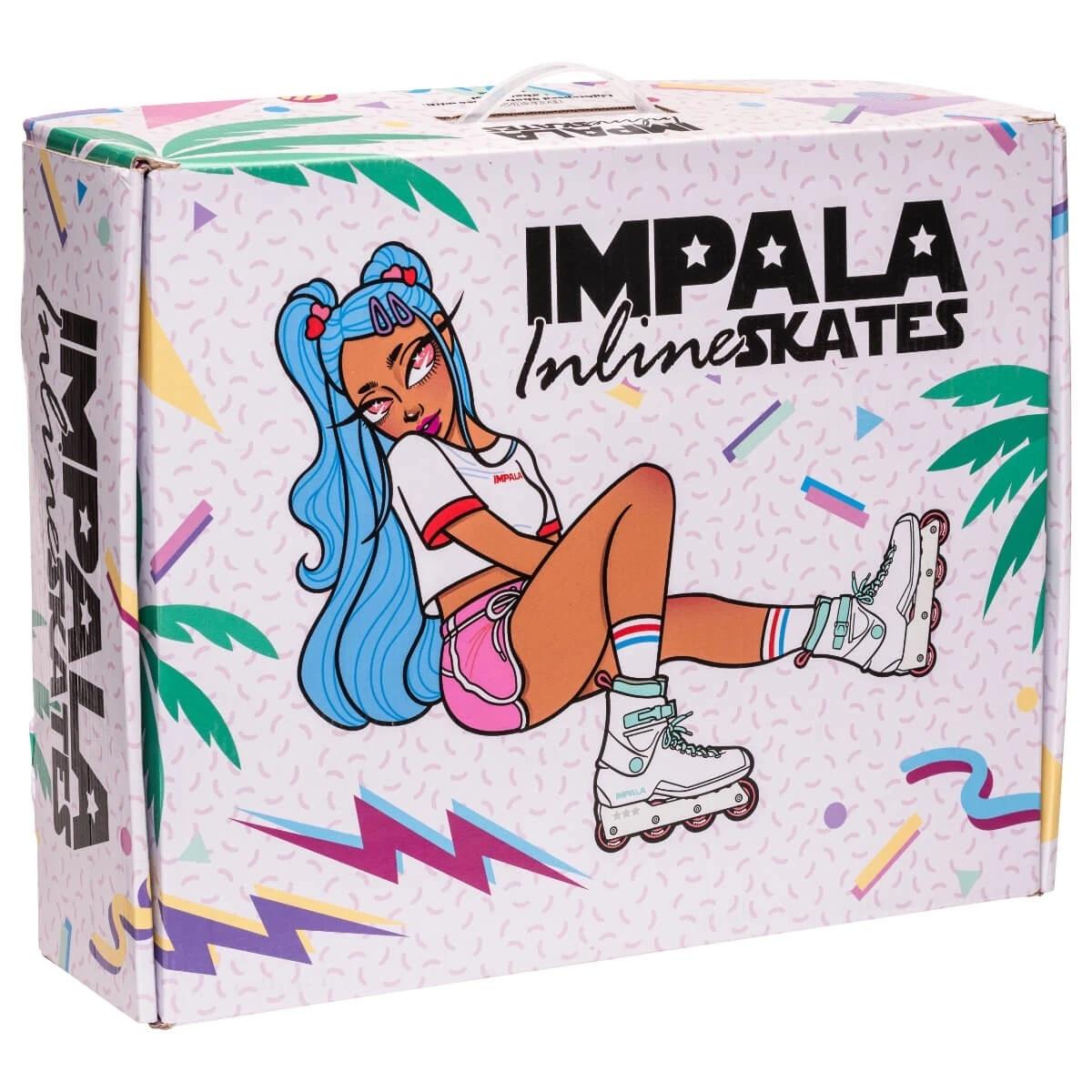 IMPALA IMPALA INLINE SKATES, BLACK/BERRY