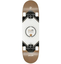 PLAYLIFE PLAYLIFE SKATEBOARD, HARDCORE BRONZE