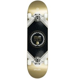 PLAYLIFE PLAYLIFE SKATEBOARD, HARDCORE GOLD